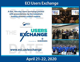 ECI Users Exchange: April 21-22, 2020